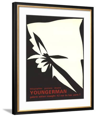 Lithographs, Engravings, Drawings-Jack Youngerman-Framed Art Print