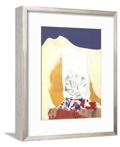 Composition V-171-Paul Rebeyrolle-Framed Art Print