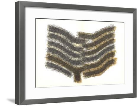 Sillons Ocres-Rodolphe Raoul Ubac-Framed Art Print