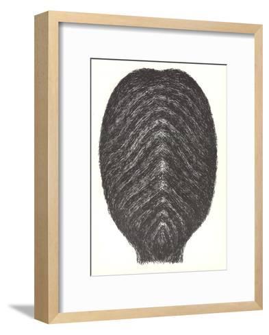 Drawing for head-Rodolphe Raoul Ubac-Framed Art Print