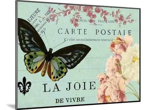 Postcards of Paris IV-Sandy Lloyd-Mounted Art Print