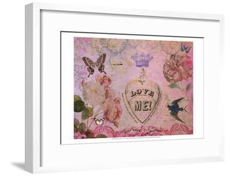 Postcards of Paris V-Sandy Lloyd-Framed Art Print