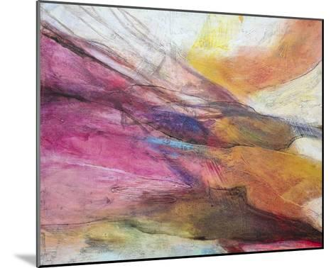 Fuchsia Expression II-Gabriela Villarreal-Mounted Art Print