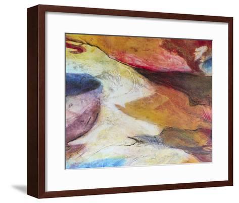 Fuchsia Expression IV-Gabriela Villarreal-Framed Art Print