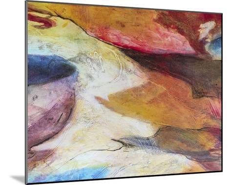 Fuchsia Expression IV-Gabriela Villarreal-Mounted Art Print