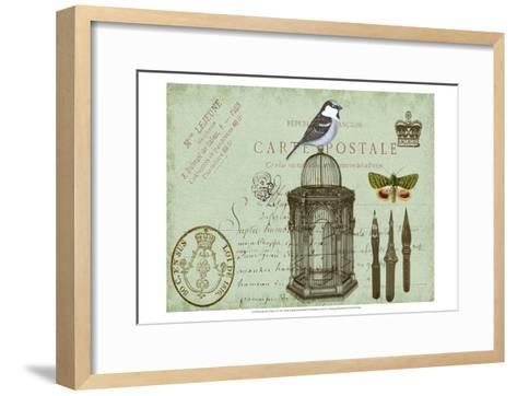 Postcards of Paris II-Sandy Lloyd-Framed Art Print