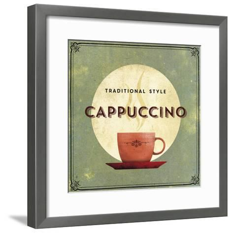 Finest Coffee - Cappuccino-Hens Teeth-Framed Art Print