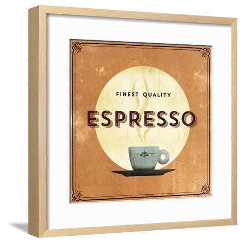 Finest Coffee - Espresso-Hens Teeth-Framed Art Print
