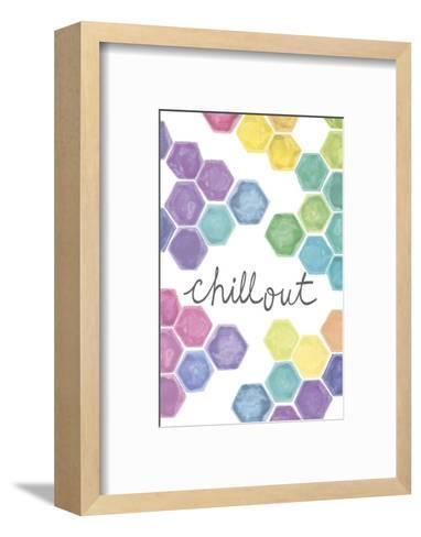 Vibrant - Chillout-Lottie Fontaine-Framed Art Print