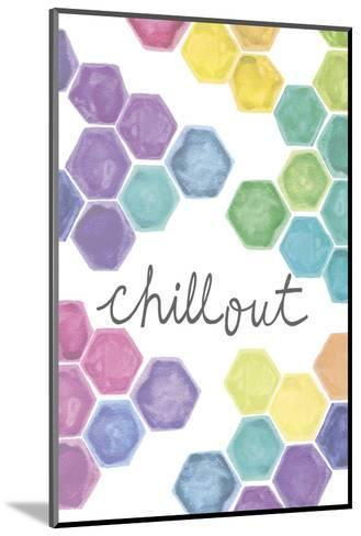 Vibrant - Chillout-Lottie Fontaine-Mounted Art Print