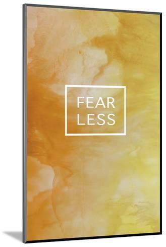 Fearless Fluorescent-Lottie Fontaine-Mounted Art Print