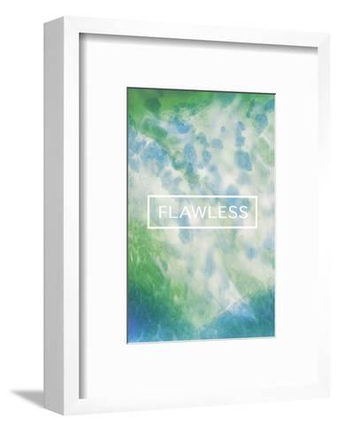 Flawless Fluorescent-Lottie Fontaine-Framed Art Print