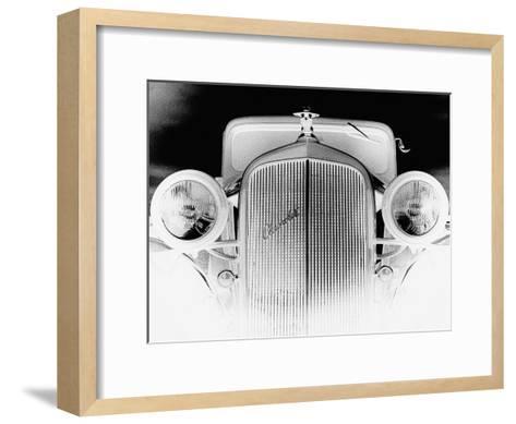 X-ray - Chevrolet Coupe, 1933-Hakan Strand-Framed Art Print