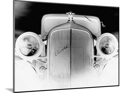 X-ray - Chevrolet Coupe, 1933-Hakan Strand-Mounted Art Print