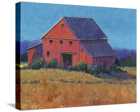 Colorful Barn View II-Tim O'toole-Stretched Canvas Print