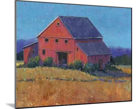 Colorful Barn View II-Tim O'toole-Mounted Art Print