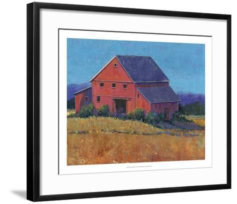 Colorful Barn View II-Tim O'toole-Framed Art Print