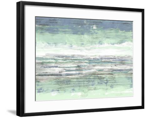 Seascape Striations II-Jennifer Goldberger-Framed Art Print