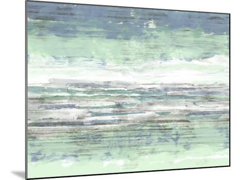 Seascape Striations II-Jennifer Goldberger-Mounted Giclee Print