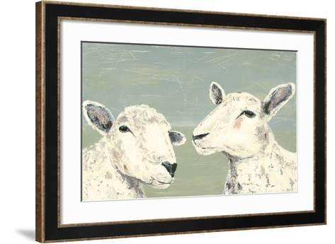 Bashful Sheep I-Jade Reynolds-Framed Art Print