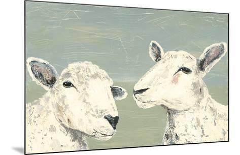 Bashful Sheep I-Jade Reynolds-Mounted Art Print