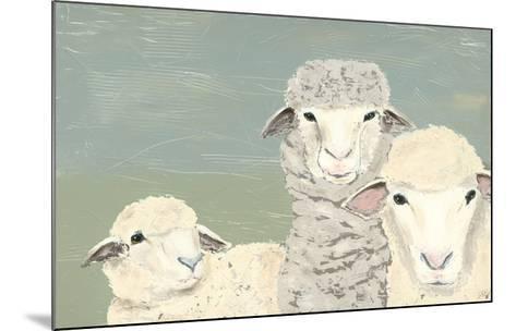 Bashful Sheep II-Jade Reynolds-Mounted Art Print