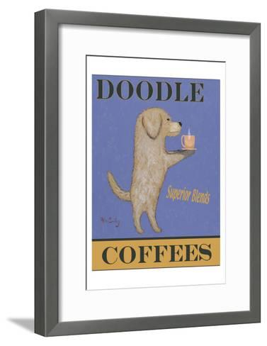 Doodle Superior Blends Coffees-Ken Bailey-Framed Art Print