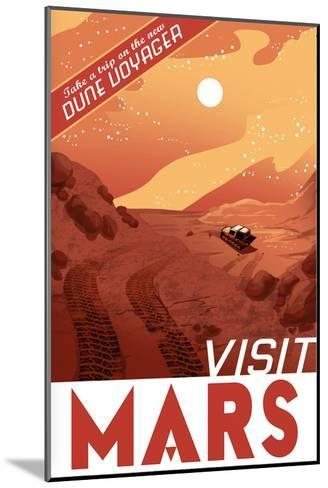 Visit Mars-Lynx Art Collection-Mounted Art Print
