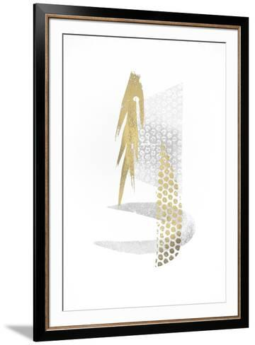 Multi Foil Crescent II-Renee W^ Stramel-Framed Art Print