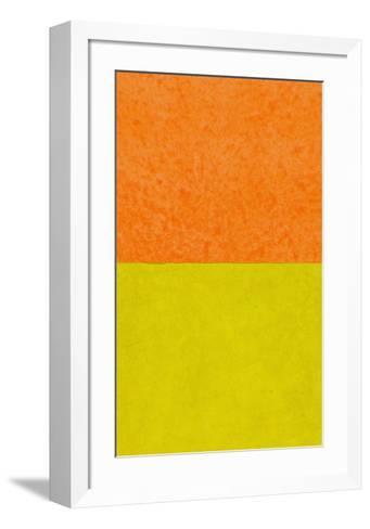 Monochrome (Yellow), 2011-Vlado Fieri-Framed Art Print