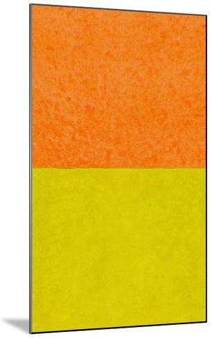 Monochrome (Yellow), 2011-Vlado Fieri-Mounted Giclee Print