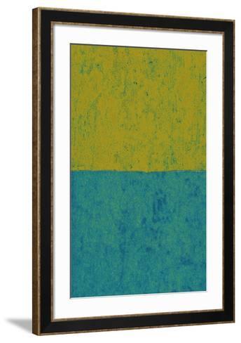 Monochrome (Green), 2011-Vlado Fieri-Framed Art Print
