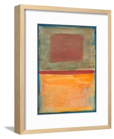 Watercolor 8, 2011-Valerie Francoise-Framed Art Print