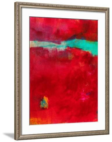 AO210-Alison Black-Framed Art Print