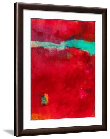AO210-Alison Black-Framed Art Print
