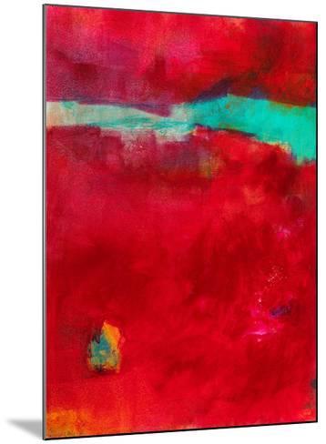 AO210-Alison Black-Mounted Giclee Print
