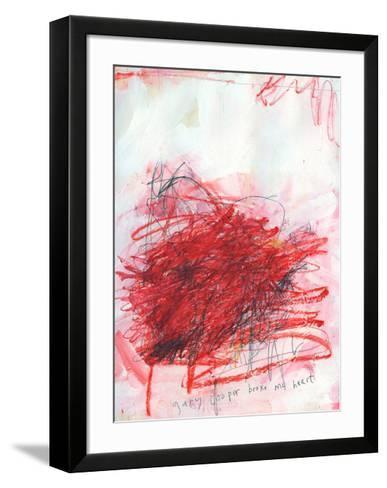 Gary Cooper Broke My Heart-Alison Black-Framed Art Print