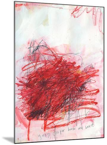 Gary Cooper Broke My Heart-Alison Black-Mounted Giclee Print