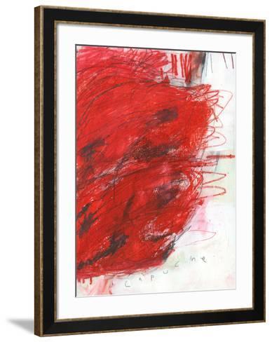 Capucine-Alison Black-Framed Art Print