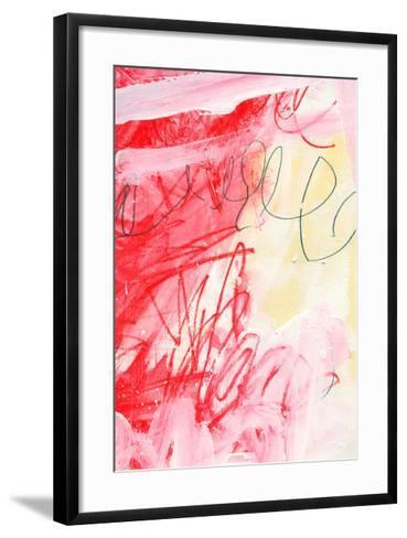Triptych 3A-Alison Black-Framed Art Print