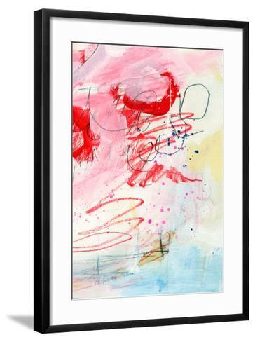 Triptych 3C-Alison Black-Framed Art Print