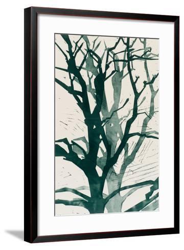 Arbres (Vert), 2015-Marie-Cecile Clause-Framed Art Print