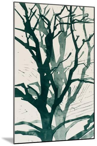 Arbres (Vert), 2015-Marie-Cecile Clause-Mounted Giclee Print