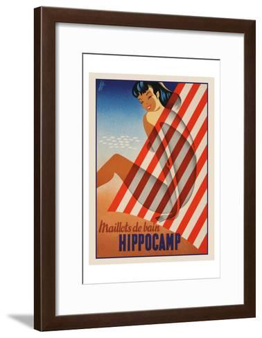 Maillots de bain Hippocamp Art Print by Vintage Posters | the NEW ...