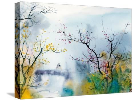 Lovers at Chi Tou-Chi Wen-Stretched Canvas Print