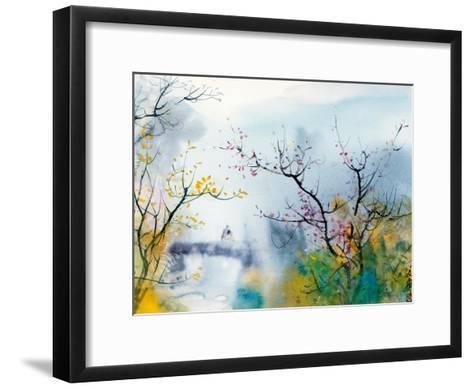 Lovers at Chi Tou-Chi Wen-Framed Art Print