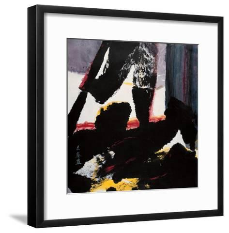 Inside and Outside the Window-Chi Wen-Framed Art Print