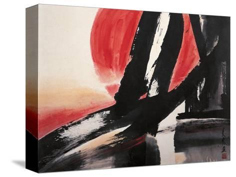 Sunset-Chi Wen-Stretched Canvas Print