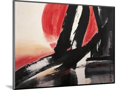 Sunset-Chi Wen-Mounted Giclee Print