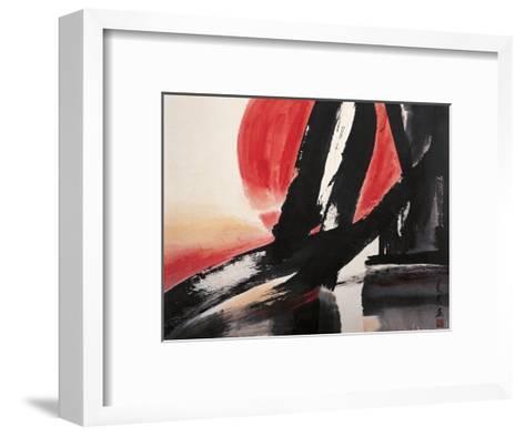 Sunset-Chi Wen-Framed Art Print